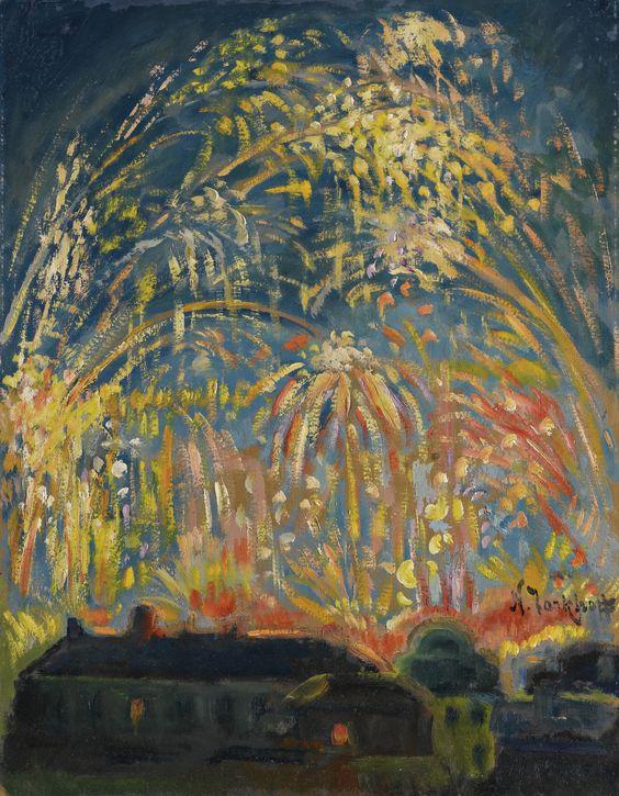 """""""Fireworks in Nice"""" by Nicolas Tarkhof"""