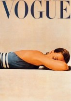 A famous John Rawlings beach shot 1947 VOGUE JUNE 1947