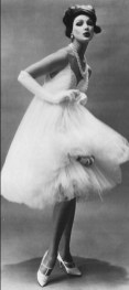 1958 Tulle evening dress by James Galanos