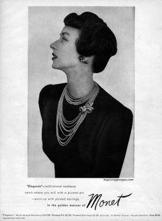 Monet 1947 - Dorian Leigh
