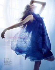 Nathalia Oliveira Elle Japan May 2014