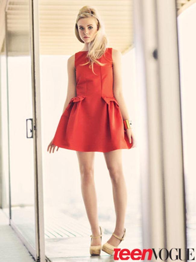 TEEN VOGUE- Elle Fanning by Sebastian Kim. February 2012