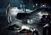 Emma Stone and Bruce Willis