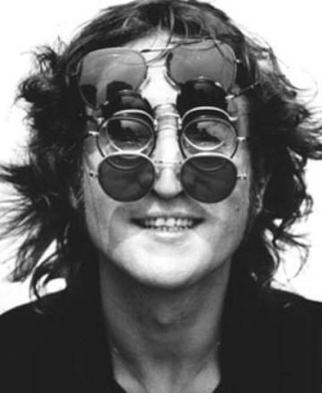 John Lennon by Bob Gruen, 1974