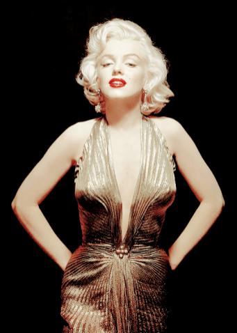 Marilyn Monroe photographed by Gene Kornman, 1953