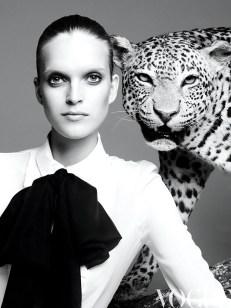 Mirte Maas por Nagi Sakai para Vogue Latinoamérica, 2013.