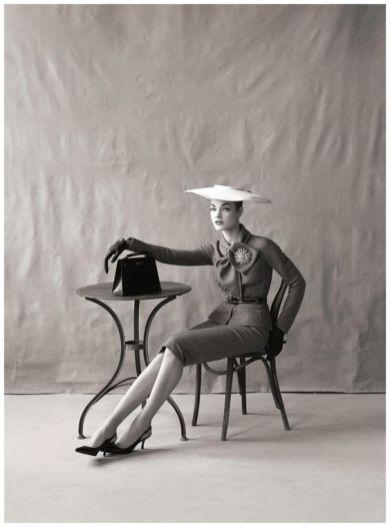 Natalia Vodianova as Jean Patchett Vogue US (May 2009)