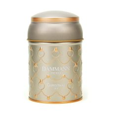 Christmas white tea by Dammann : Perfumed white tea (almond, petals, cherry, spices and ginger)