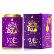 Noel bleu by Mariage Frères : Perfumed blue tea (vanilla, orange peels and cinnamon)