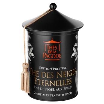 Thé des neiges éternelles by Thés de la Pagode : Perfumed black tea (cardamom, clove, ginger, cinnamon, orange and mandarin)