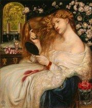 Lady Lilith by Dante Gabriel Rossetti with Fanny Cornforth
