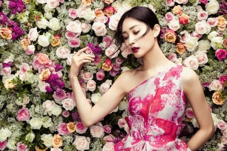Kwak Ji Young is Ready for Spring in 'The Petals' by Zhang Jingna