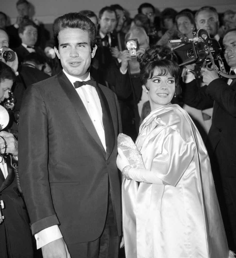 Natalie Wood and Warren Beatty