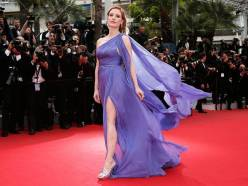 epa04214337 US actress Jessica Chastain arrives for the screening of 'Foxcatcher' during the 67th annual Cannes Film Festival, in Cannes, France, 19 May 2014. The movie is presented in the Official Competition of the festival which runs from 14 to 25 May. EPA/IAN LANGSDON EPA FRANCE CANNES FILM FESTIVAL 2014