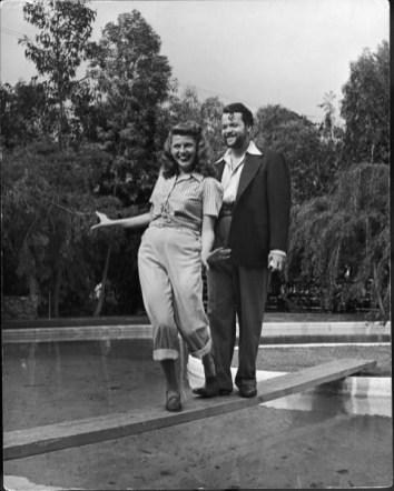 Rita Hayworth and Orson Welles