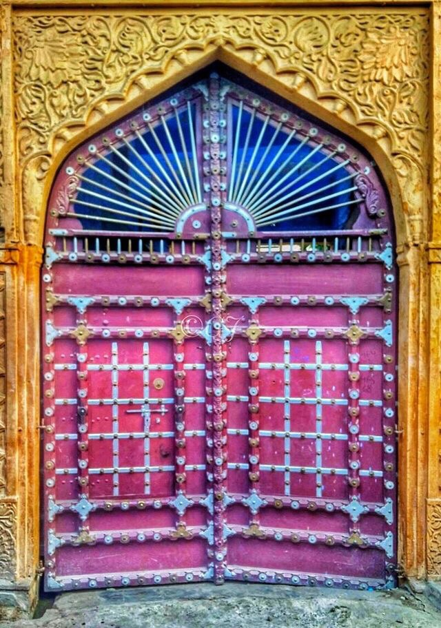 Door in Jodhpur, Rajasthan, India