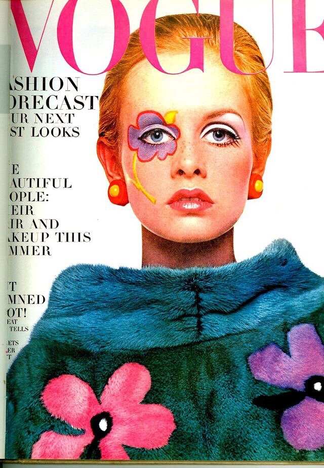 Twiggy by Richard Avedon for Vogue in 1967