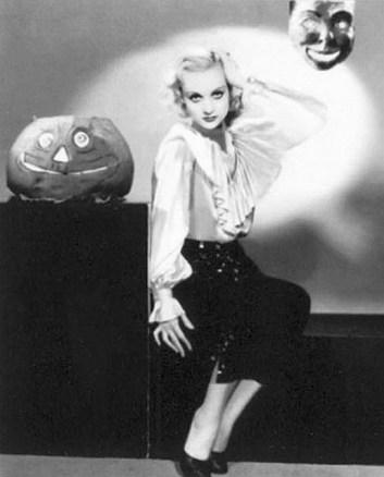 Carole Lombard pumpkin