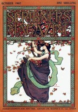 Scribners cover October 1902 by Mills Thompson