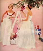 Christmas formal, McCall's December 1953