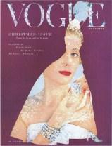 Vogue December 1953, photo by Erwin Blumenfeld