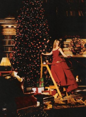 Kate Winslet by Peter Lindbergh for Harper's Bazaar December 2005, Christmas editorial