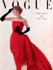 Lisa Fonssagrives by Irving Penn for Vogue December 1949