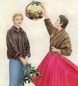 Christmas photo 1950s
