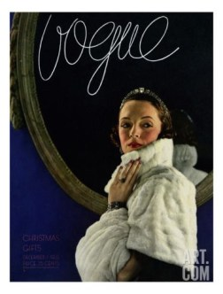 Vogue Christmas issue 1933