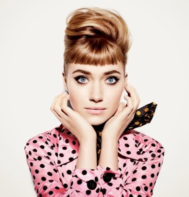 Imogen Poots by Miguel Reveriego for Vanity Fair December 2013, Christmas editorial