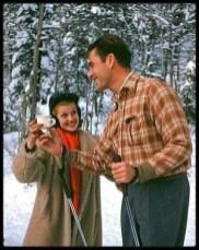 Rita Hayworth and Errol Flynn