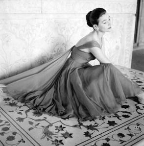 Anne Gunning by Norman Parkinson 1956