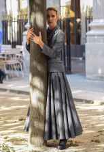Celine Dion is seen doing a photoshoot in the garden of the Palais Royal in Paris, France. Pictured: 06/07/2017. Paris, France. Ref: SPL1533927 060717 Picture by: Splash News