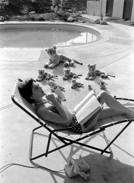 Natalie Wood by Ralph Crane