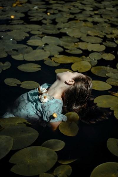 Ophelia by Polina Washington