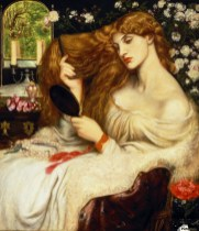 Lady Lilith by Dante Gabriel Rossetti with Alexa Wilding
