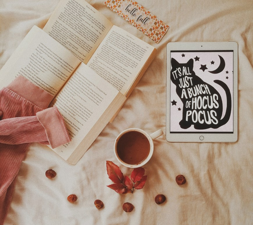 books and a hocus pocus quote featured