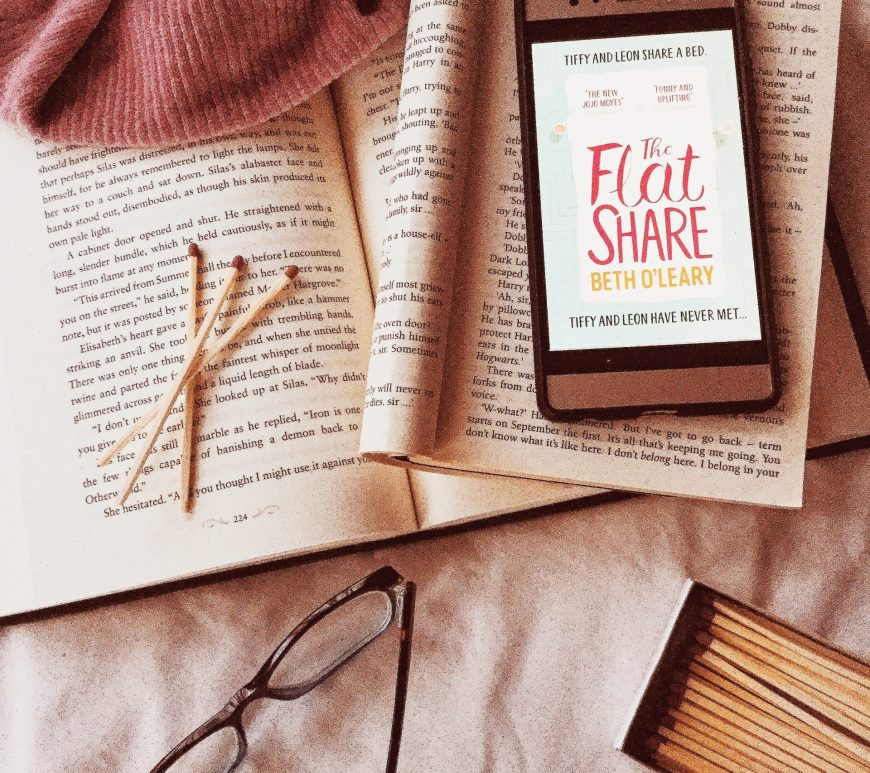 the flatshare by Beth O' Leary, ,ebook,goodreads, book review, contemporary, romance, book blogger, bookstagram