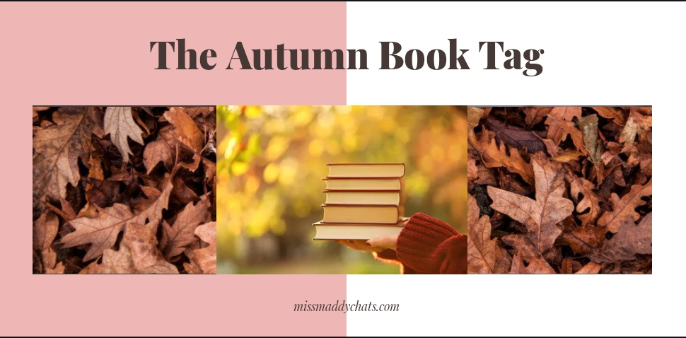 autumn book tag, cosy reads, cozy reads, autumnal reads, coraline, pumpkin spice latte, haunted house, thriller reads, comforting books, diverse books, book blogger, bookstagrammer, book community