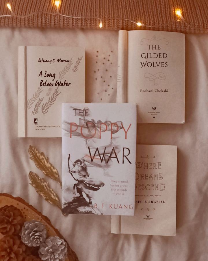 diverse winter book recommendations, cosy reads, books by poc authors, books by authors of colour, goodreads, winter book recs,ya fantasy, thrillers, romance, contemporary, poetry, book blogger, bookstagram