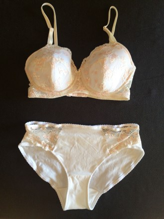 Strawberries & Cream Lingerie Set