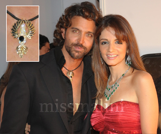 Hrithik and Susane Roshan