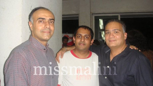 Rajat Kapoor, Anubhav Pal and Rahul Da Cunha