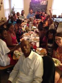 community dinner picture