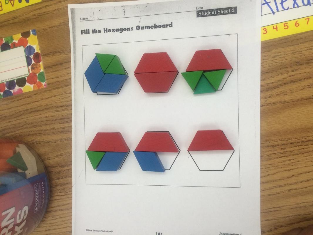 Fill The Hexagon