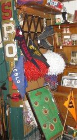 Vintage Sports Memorabilia - Vintage Golf Clubs, Track, Shoes, Games, Toys, Pennant Flags, Game Balls, Hats