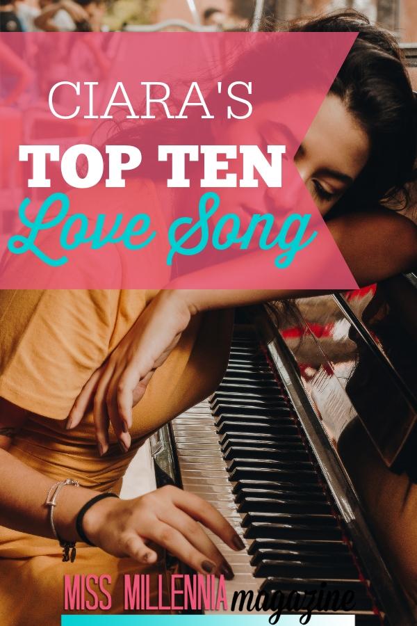 ciara's top ten love songss