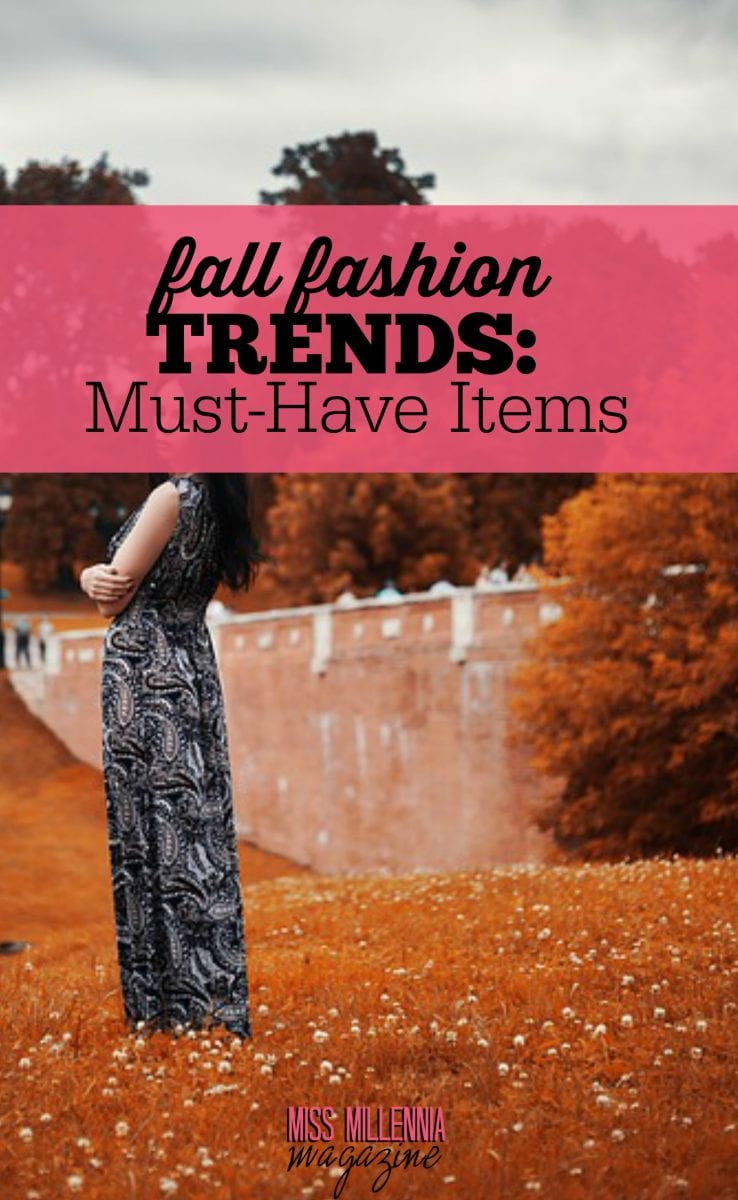Fashion trends for the upcoming fall season.