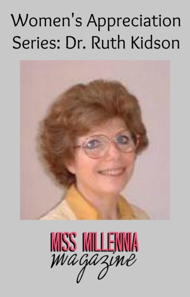 Dr. Ruth Kidson