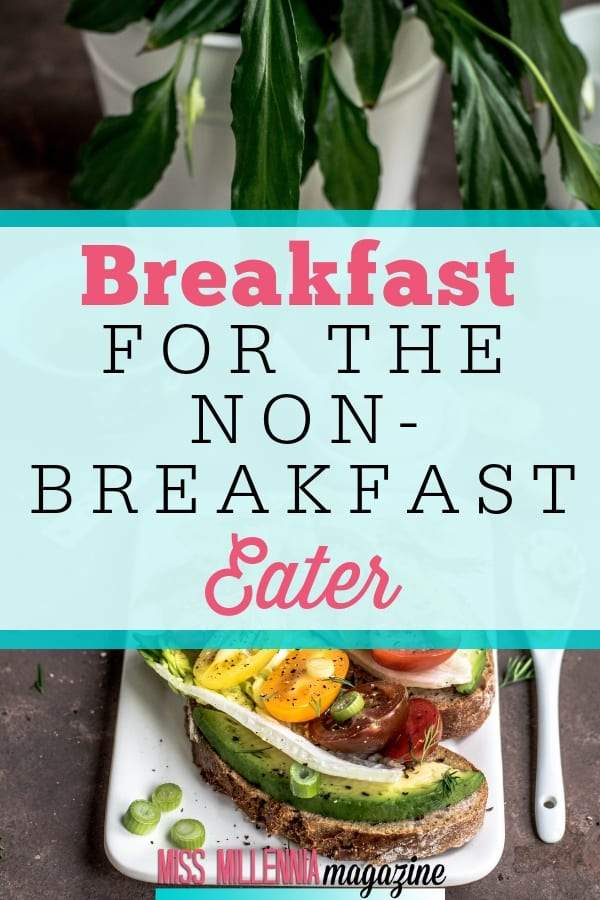 Don't like eating breakfast? See why you should and see a list of easy and light breakfast ideas that can help break a non-breakfast eating habit.